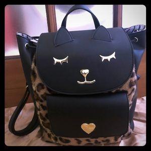 Betsey Johnson Kitty Backpack NWT